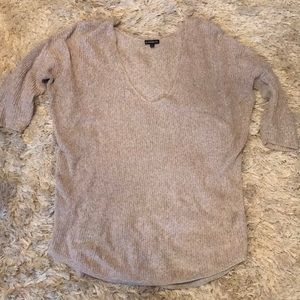 Express 1/4 Sleeve Sweater